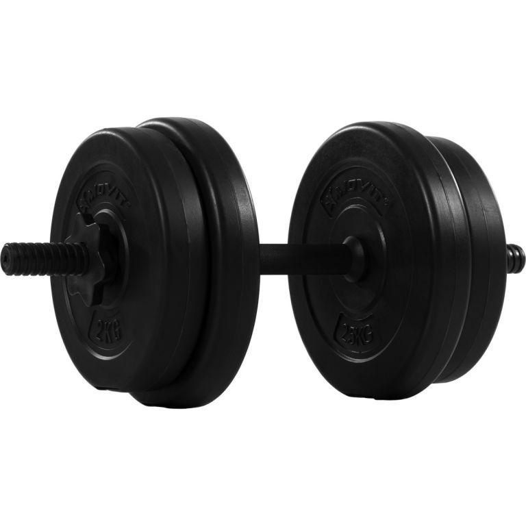 Jednoručná posilňovacia činka MOVIT 1 x 10 kg