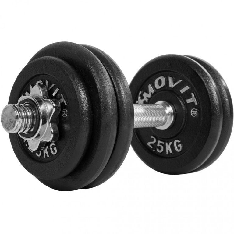 OEM Jednoručná liatinová činka MOVIT 30 kg