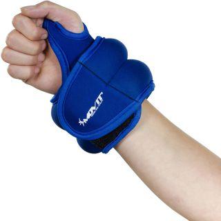 MOVIT neoprénová kondičná záťaž 1 kg, modrá