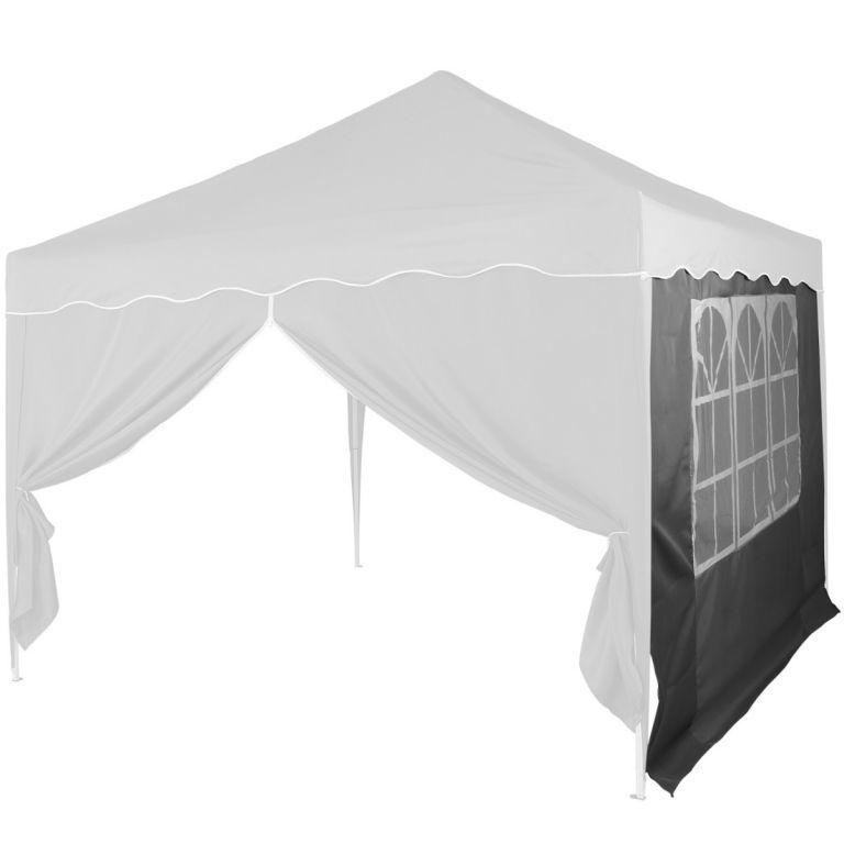 Náhradná bočná stena ku stanu s oknom - antracit