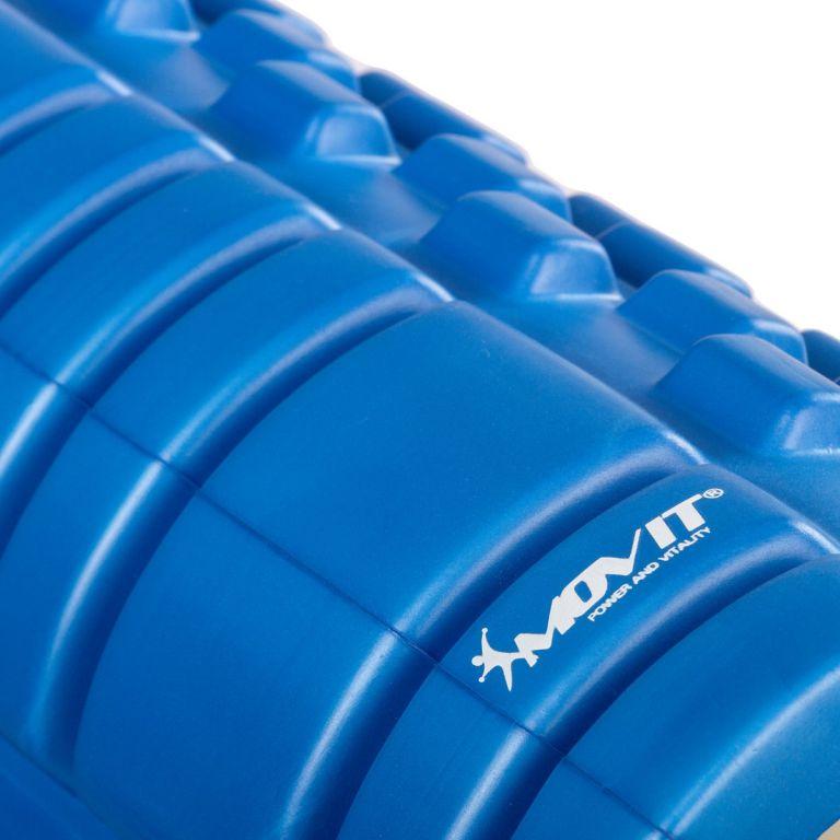 Posilňovací masážny valec - FITNESS ROLLER MOVIT modrá