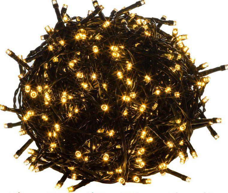 Vianočné LED osvetlenie - 5 m, 50 LED, teple biele