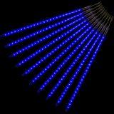 Vianočné osvetlenie - padajúci sneh - 480 LED modrá