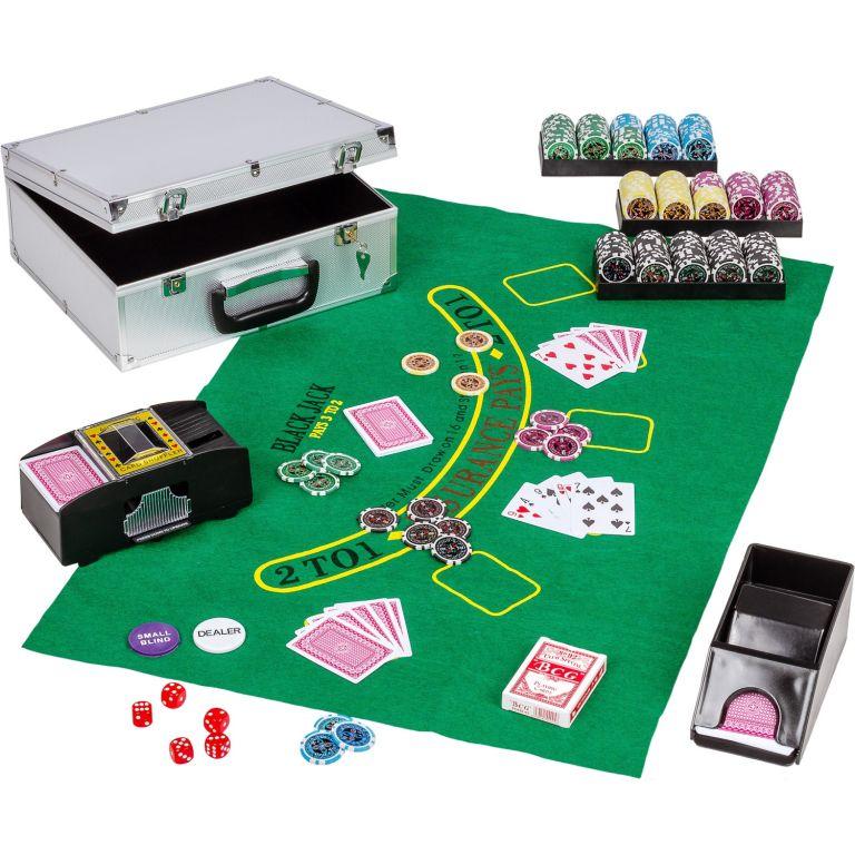Poker set Ultimate s príslušenstvom