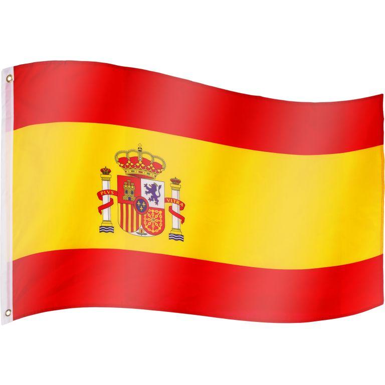 Vlajka Španielsko - 120 cm x 80 cm