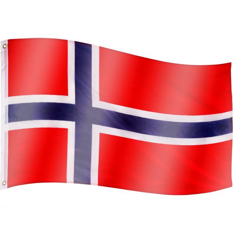 Vlajka Nórsko - 120 cm x 80 cm