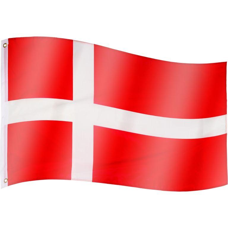 Vlajka Dánsko - 120 cm x 80 cm