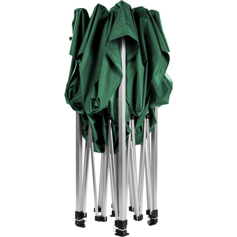 Záhradný párty stan nožnicový INSTENT 3 x 3 m - zelený