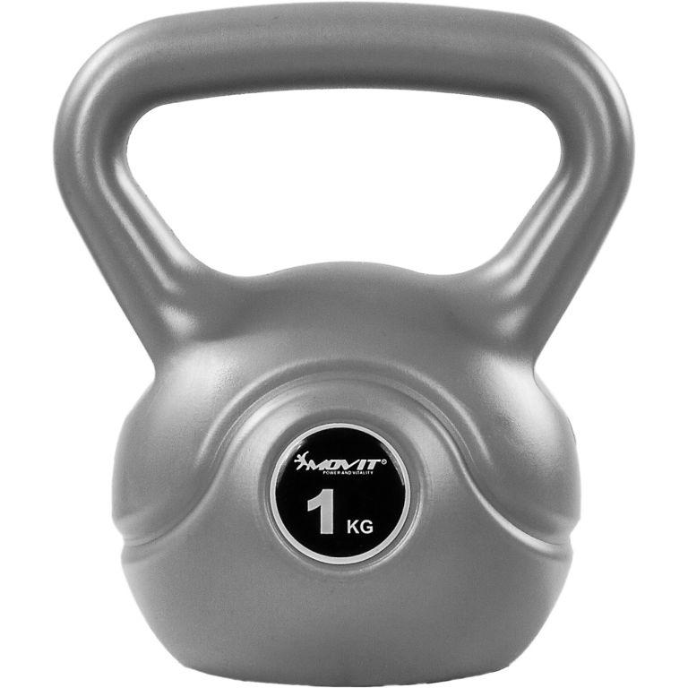 Kettlebell činka sivá - 1 kg