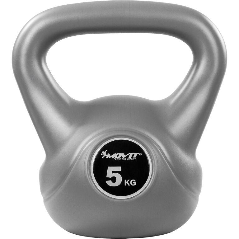 Kettlebell činka sivá - 5 kg