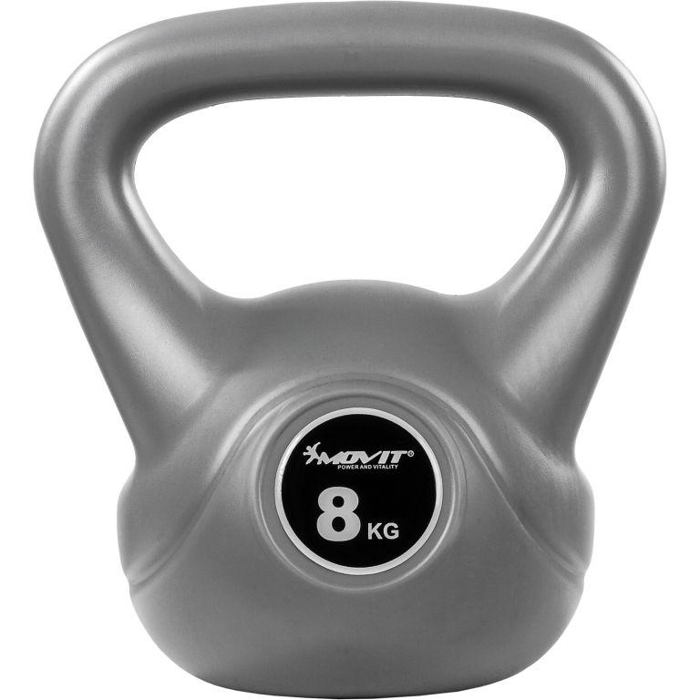 Kettlebell činka sivá - 8 kg