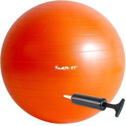 Gymnastická lopta MOVIT - oranžová – 65 cm