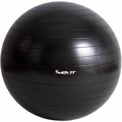 MOVIT 6329 Gymnastický míč - černý - 65cm