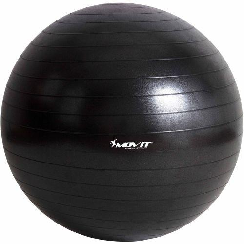 Gymnastická lopta MOVIT - čierna, 75 cm