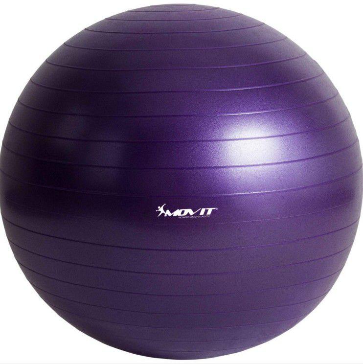 Gymnastická lopta MOVIT - fialová, 65 cm