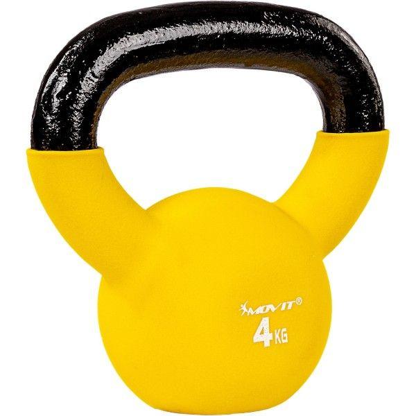 Kettlebell činka MOVIT® - 4 kg