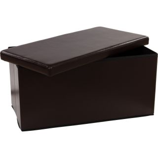 Skladacia lavica s úložným priestorom – hnedá