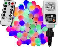 Párty LED osvetlenie 20 m - farebné 200 diód + ovládač
