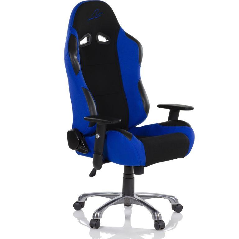 "RACEMASTER stolička ""RS SERIES"", modrá"