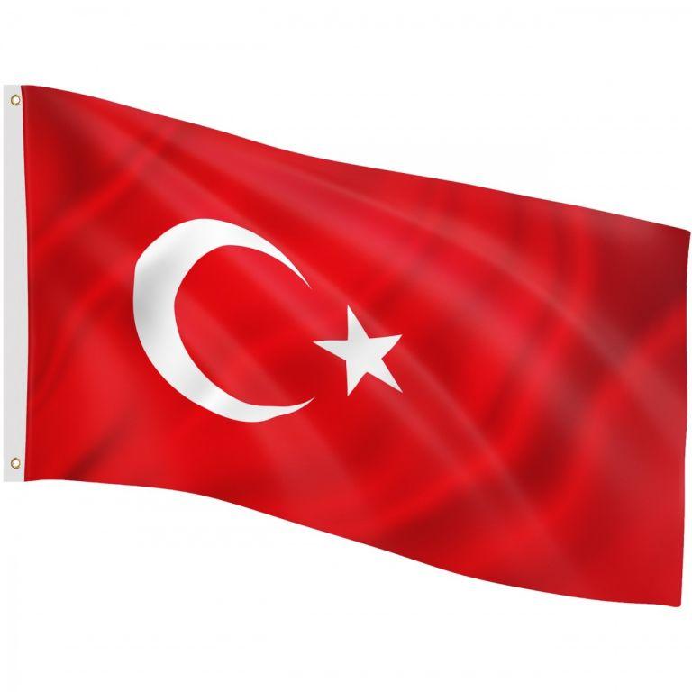Vlajka Turecko, 120 x 80 cm