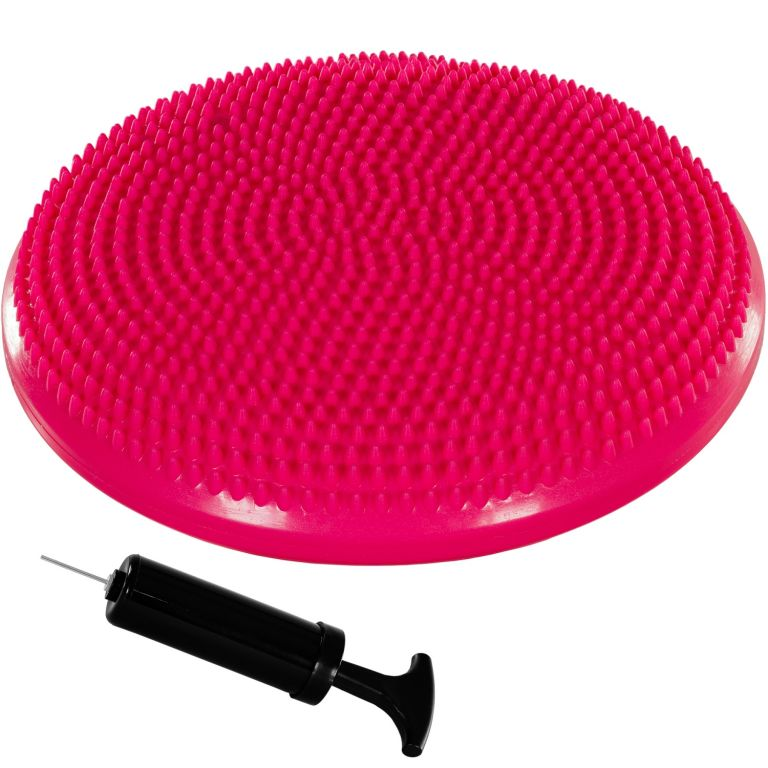 MOVIT Balančný vankúš na sedenie, 38 cm, ružový