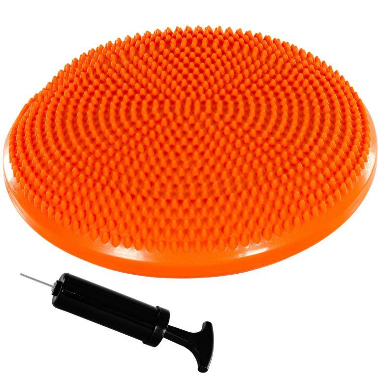 MOVIT Balančný vankúš na sedenie, 38 cm, oranžový