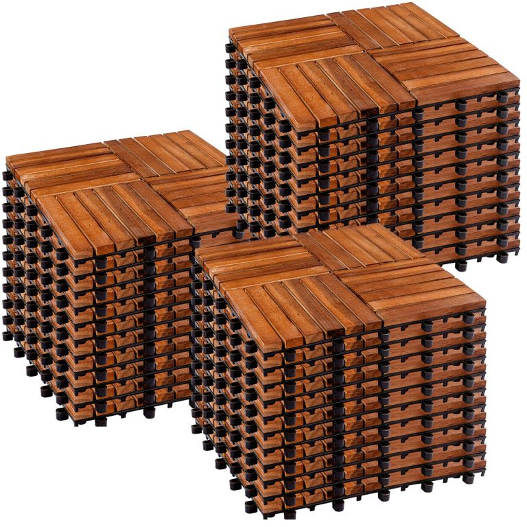 STILIST drevené dlaždice, mozaika 6, agát, 3 m²
