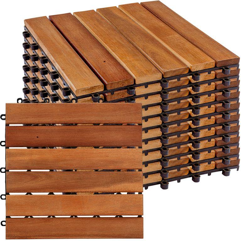 STILIST drevené dlaždice, klasik, agát, 1 m²