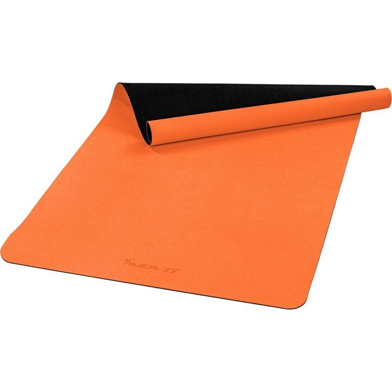 MOVIT Jóga podložka na cvičenie, 190 x 100 cm, oranžová