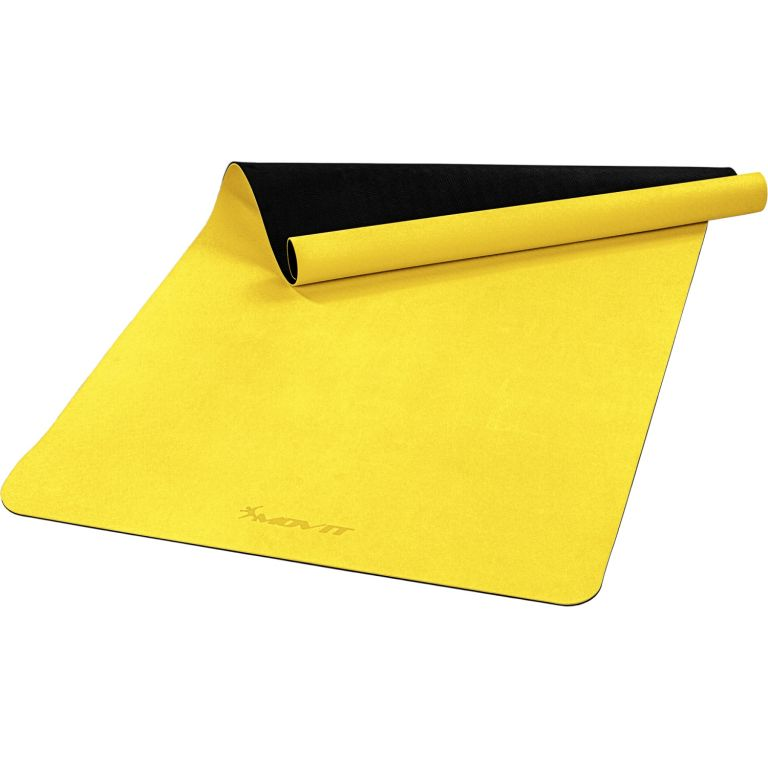 MOVIT Jóga podložka na cvičenie, 190 x 100 cm, žltá