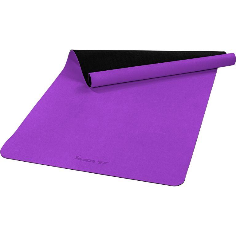 MOVIT Jóga podložka na cvičenie, 190 x 100 cm, fialová