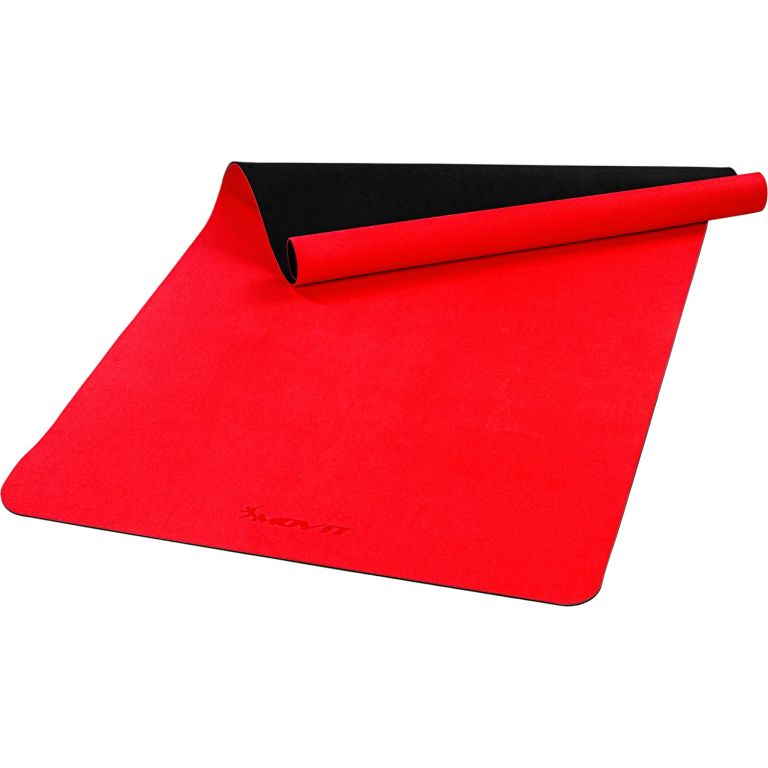 MOVIT Jóga podložka na cvičenie, 190 x 100 cm, červená