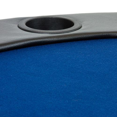 Poker podložka skladacia modrá
