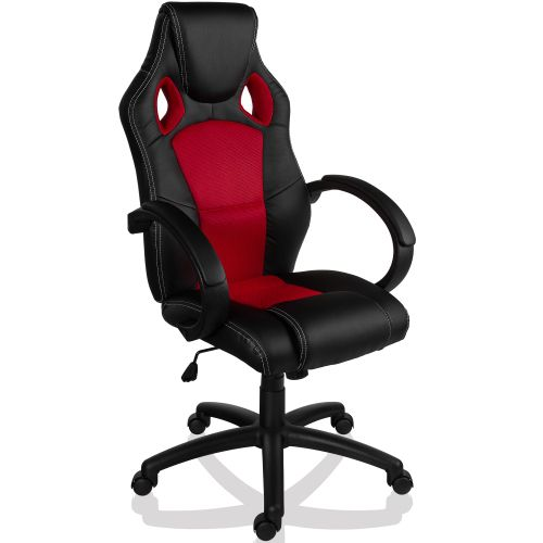 RACEMASTER® 9501 Otočná kancelářská židle ČERVENÁ GS Series