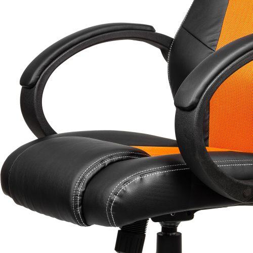 Otočná kancelárska stolička GS Series oranžová