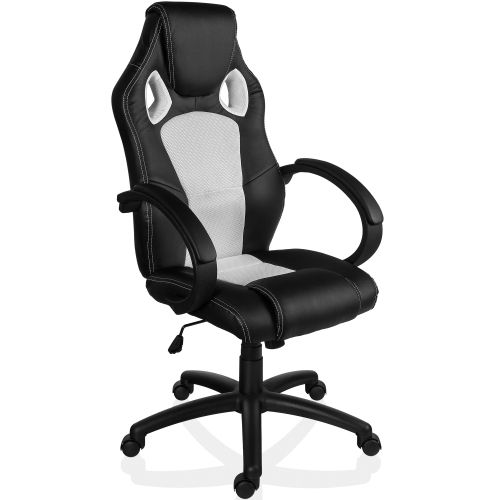 RACEMASTER® 9505 Otočná kancelářská židle BÍLÁ GS Series