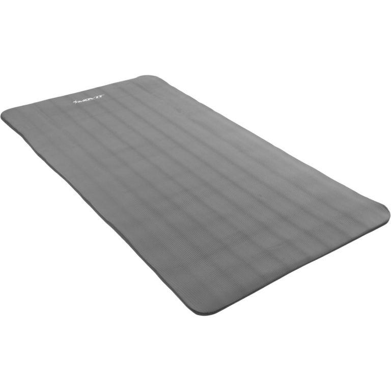 Podložka na jógu MOVIT 190 x 100 x 1,5 cm – sivá