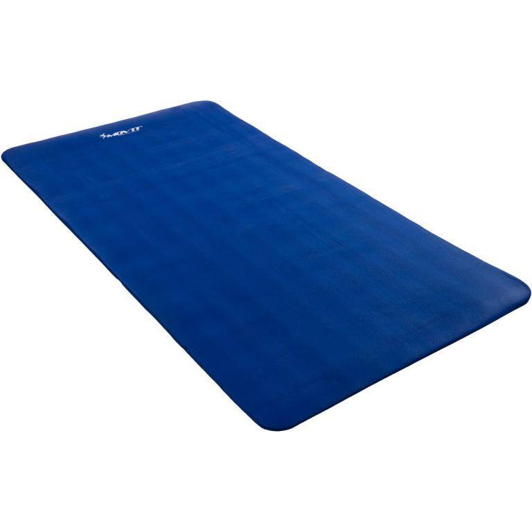 Podložka na jógu MOVIT 190 x 100 x 1,5 cm – kráľovská modrá