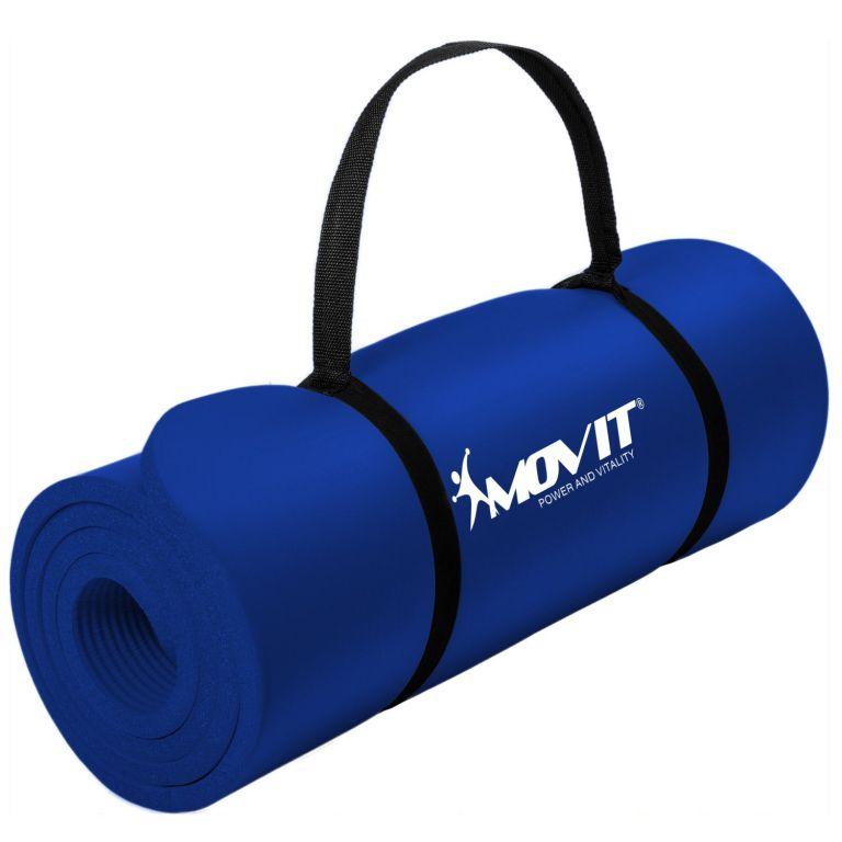 Podložka na cvičenie MOVIT 190 x 60 x 1,5 cm - kráľovská modrá
