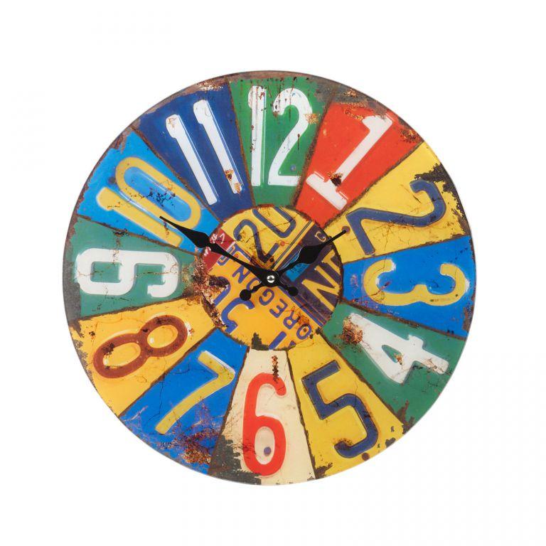 Nástenné hodiny Shabby Chic 38 cm - SUMMER
