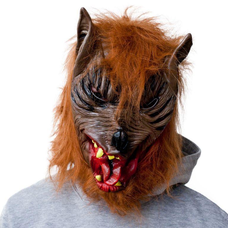 Halloweenská maska - vlkodlak