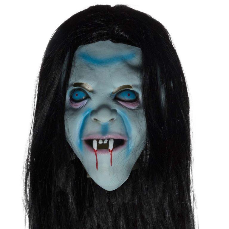 Halloweenska maska - čarodejnica
