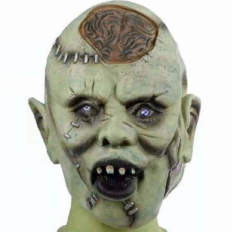 Halloweenska maska - zombie