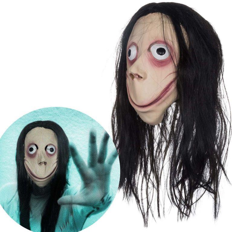 Halloweenská  maska - MOMO