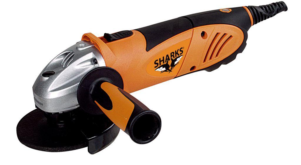 Uhlová brúska Sharks SH 115