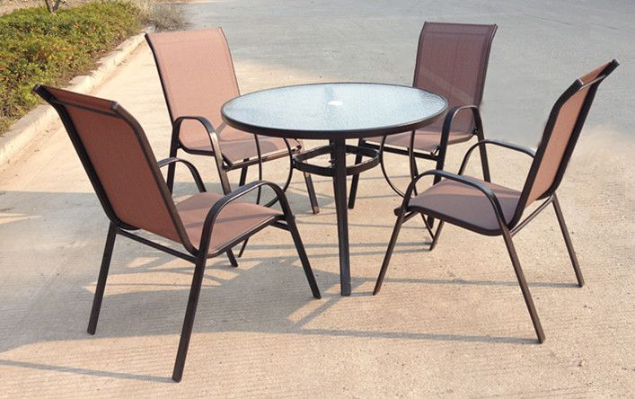 SET záhradného nábytku Jasin - Bronz Design