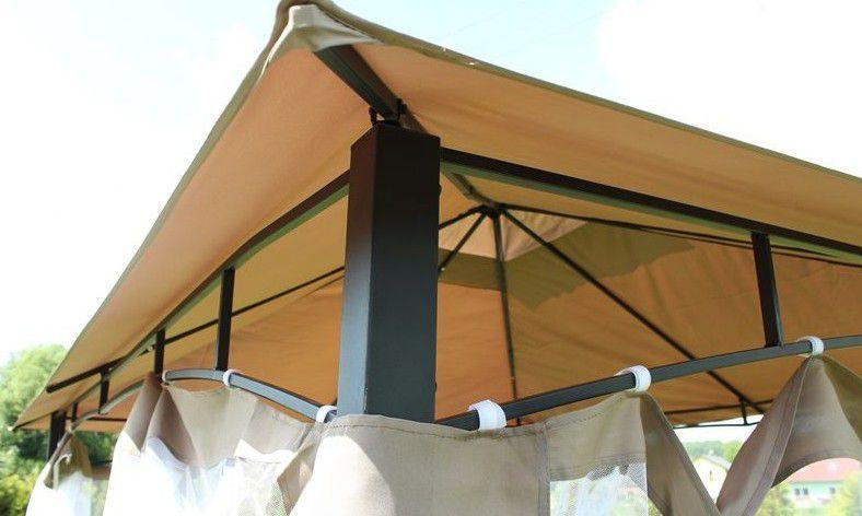 Záhradný párty stan - altánok Bormio 3 x 3 m