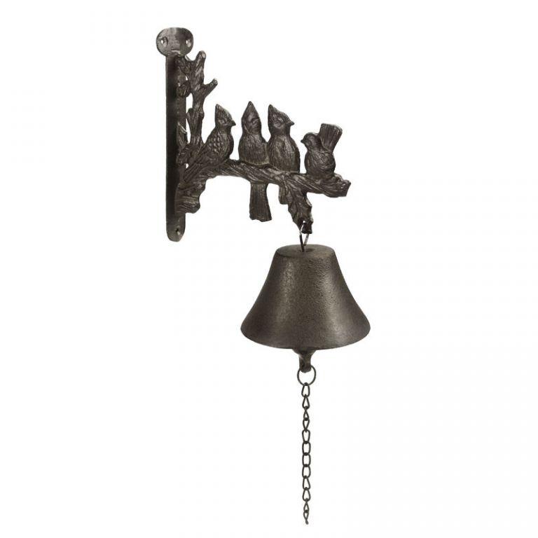 Záhradný kovový zvonček - Bell 1