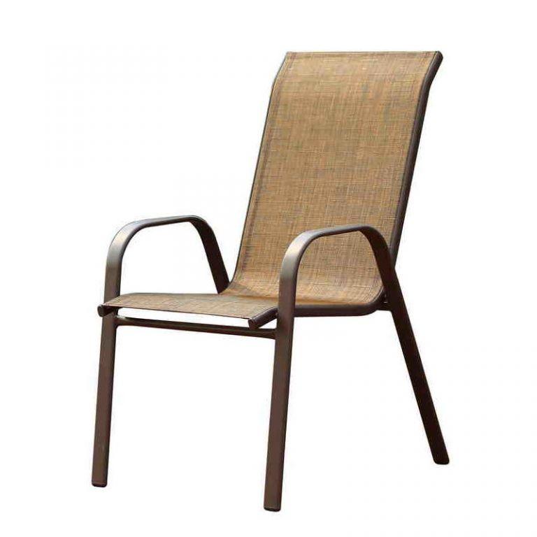 Stolička k záhradnému nábytku Nerang Dark
