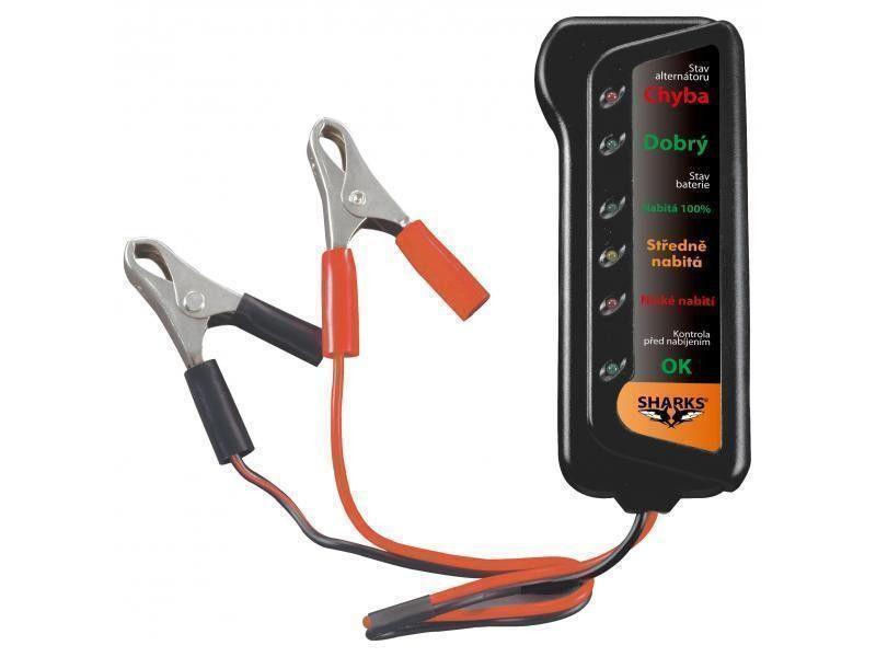 Tester autobatérií Sharks SH 102